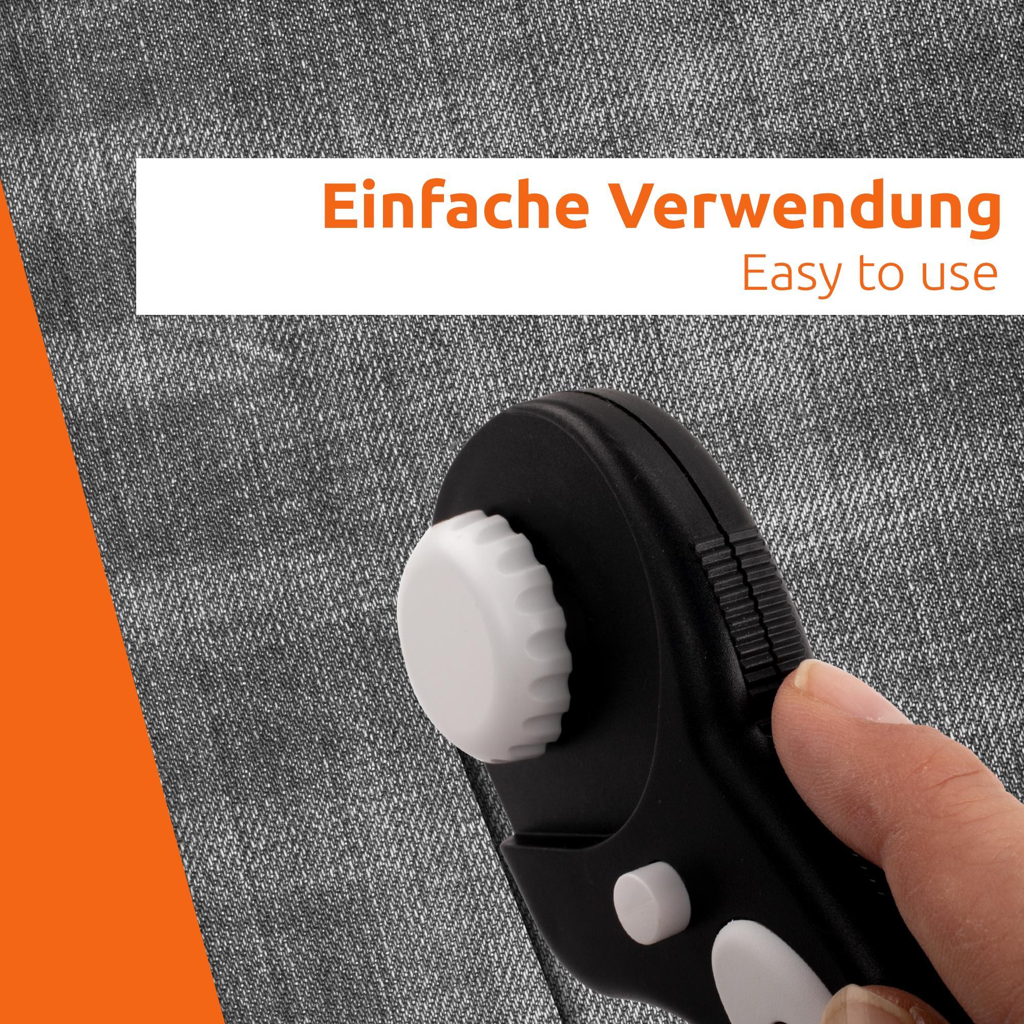 Rundschneider Rollschneider Rollmesser Stoff Leder Papier Ersatzklinge-n 45 mm