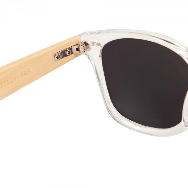 Bambus Holz Sonnenbrille Damen Herren Unisex Nerdbrille Fashion kristall grün AkyxKXWHkj